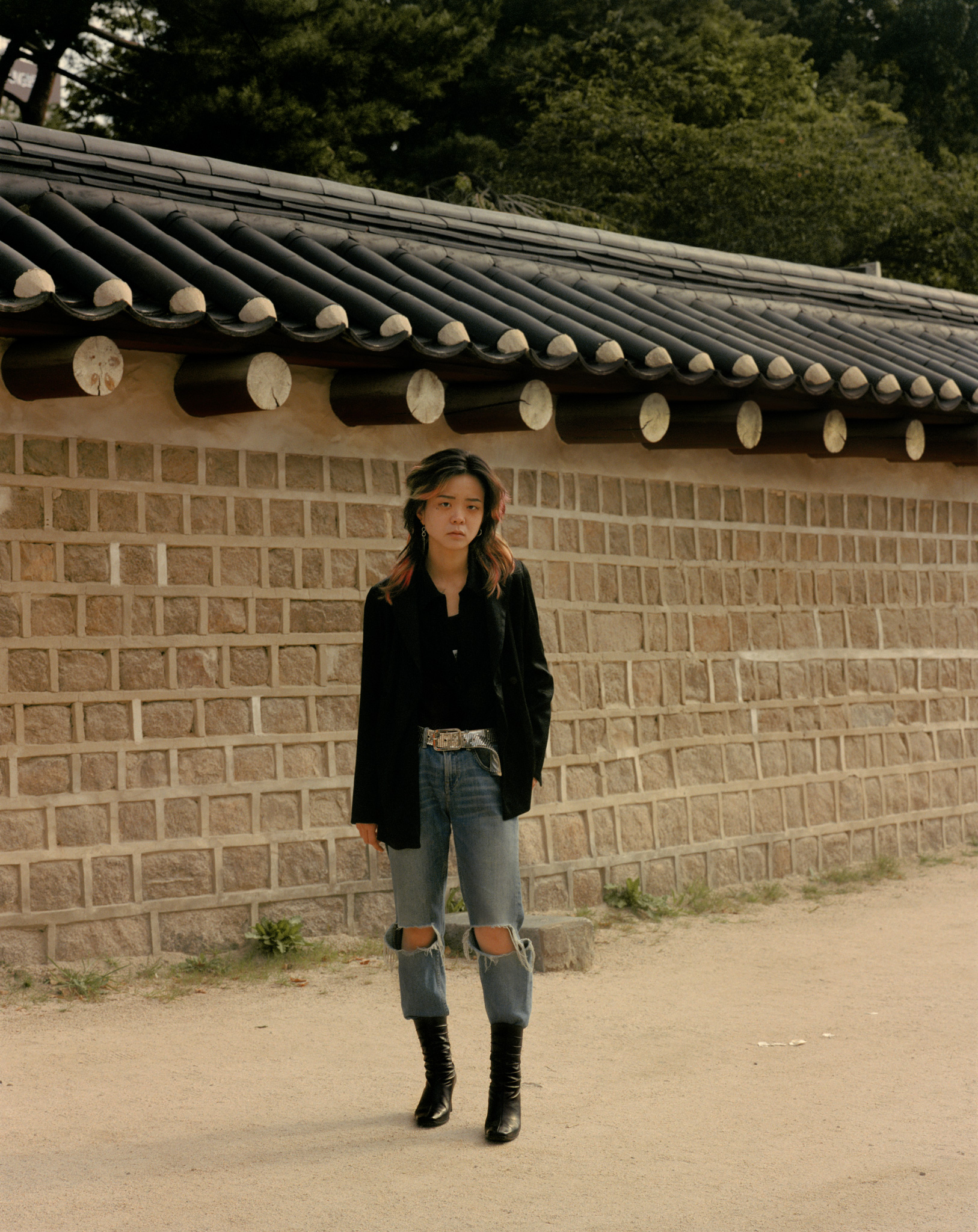 Linda for i-D Magazine (Seoul, South Korea)